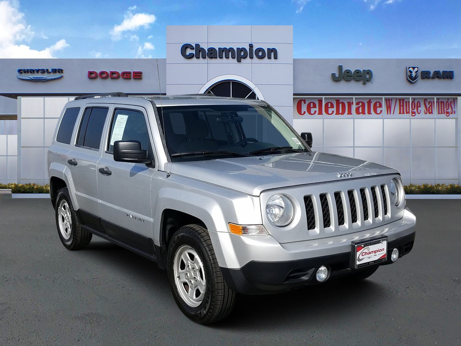 Pre-Owned 2014 Jeep Patriot Sport